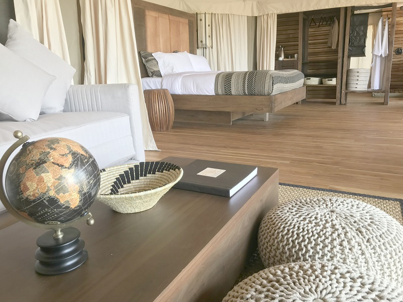 Luxury Suite at Aurari Camp